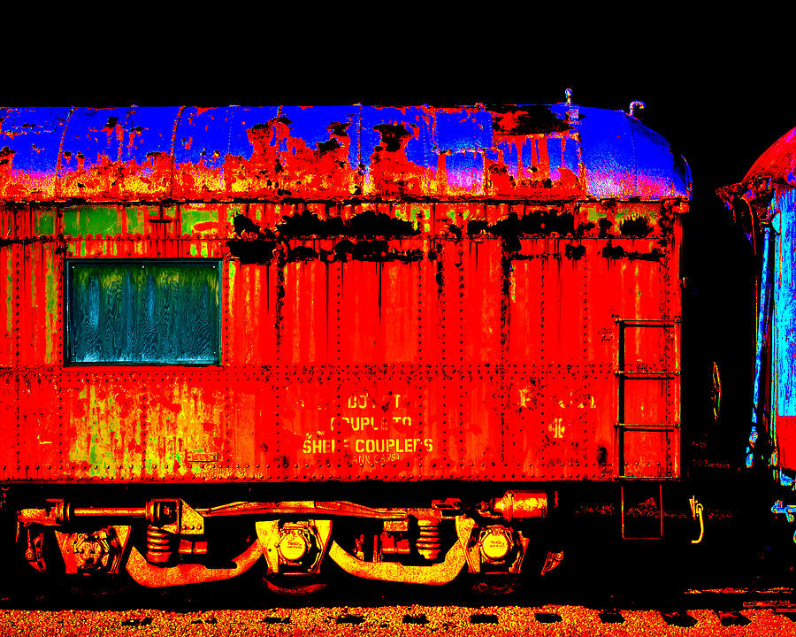 Impressionistic Photo Paint Gs 017 Digital Art