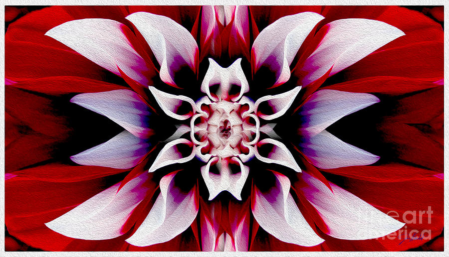 In Full Bloom Mixed Media