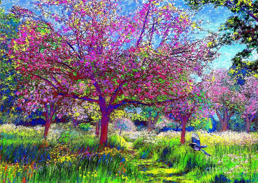 In Love With Spring Painting