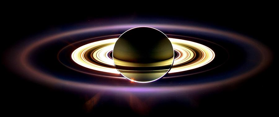 In Saturns Shadow Photograph