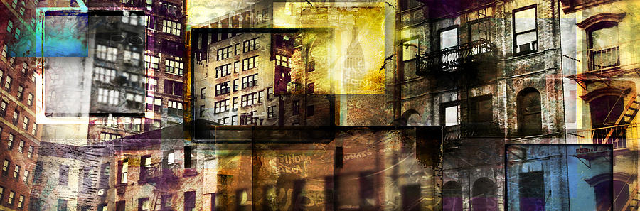 In The City Photograph  - In The City Fine Art Print