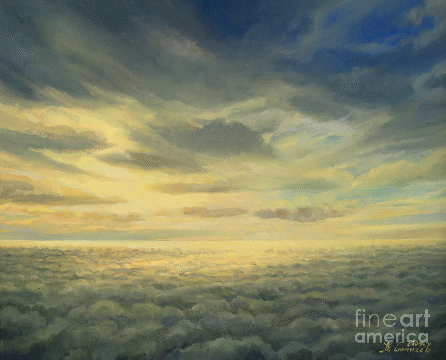 In The Footsteps Of Icarus Painting  - In The Footsteps Of Icarus Fine Art Print
