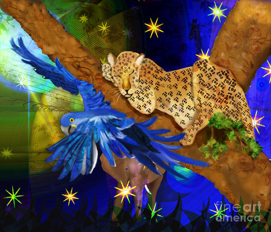 In The Jungle Painting  - In The Jungle Fine Art Print