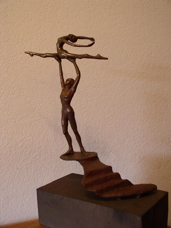Dancers Sculpture - In The Spotlight by Herschel Pollard