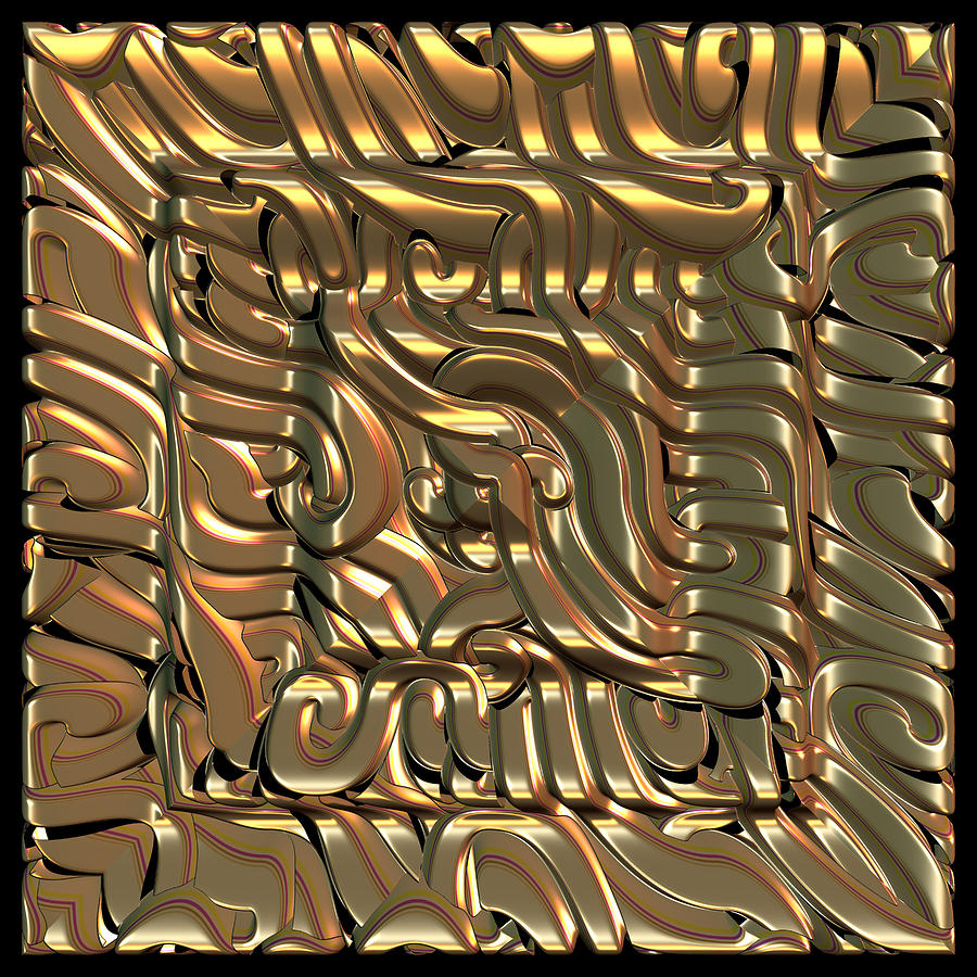 Inca Frame Digital Art