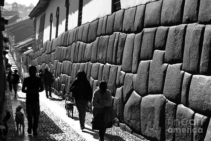 Inca Street Cusco Photograph