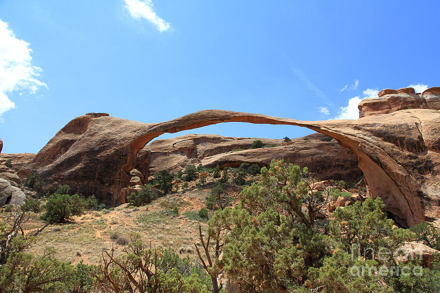 Incredible Landscape Arch Photograph