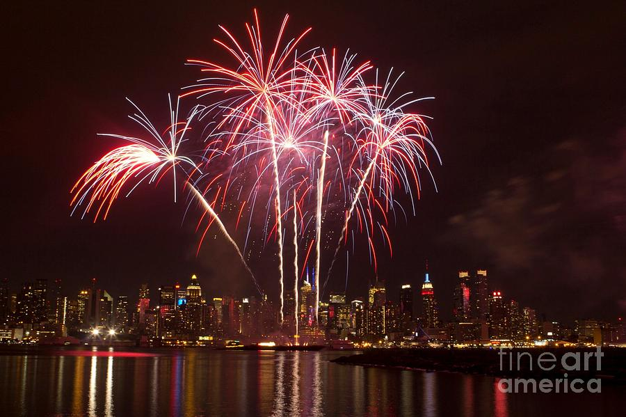 Long Exposure Photograph - Independence Day by Kim Quintano