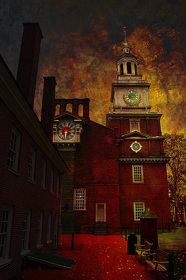 Independence Hall Philadelphia Let Freedom Ring Photograph  - Independence Hall Philadelphia Let Freedom Ring Fine Art Print