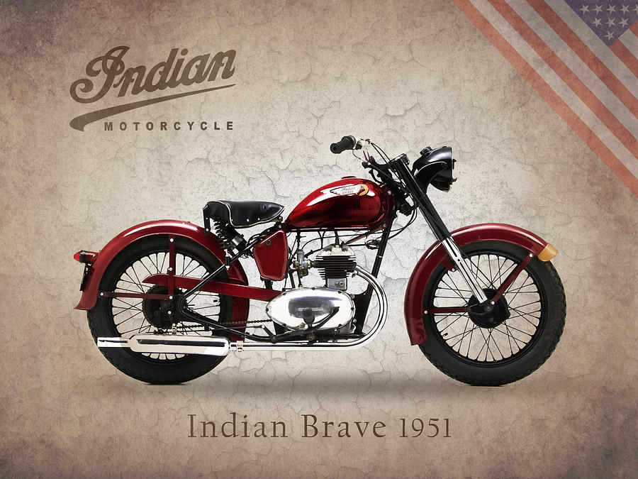Indian Brave 1951 By Mark Rogan