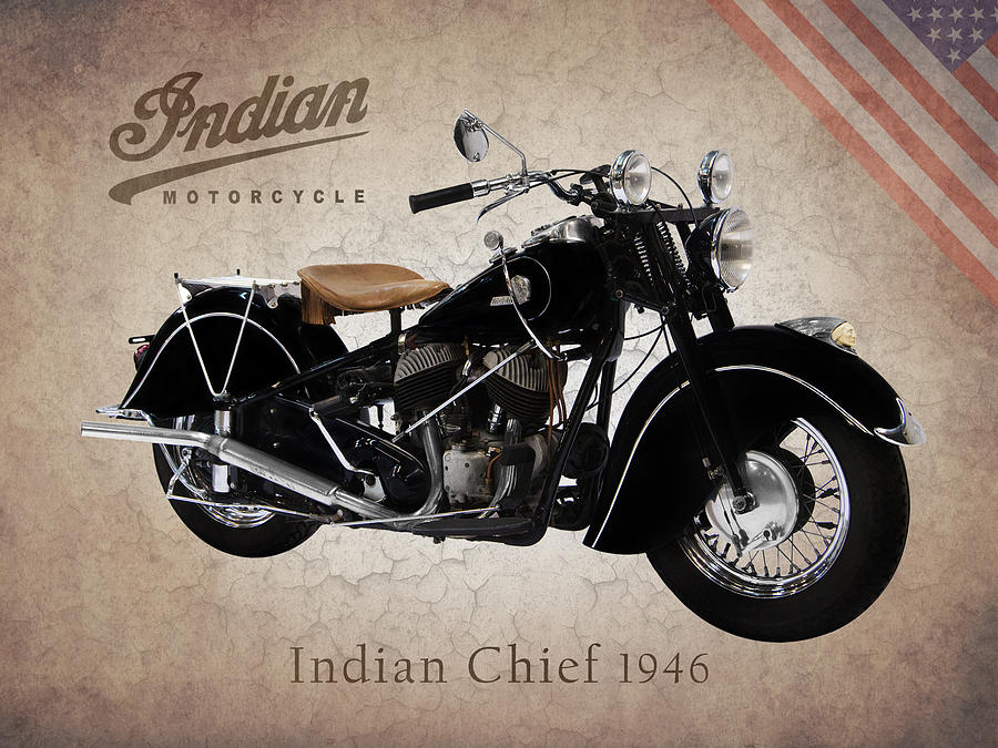 Indian Chief 1946 Photograph