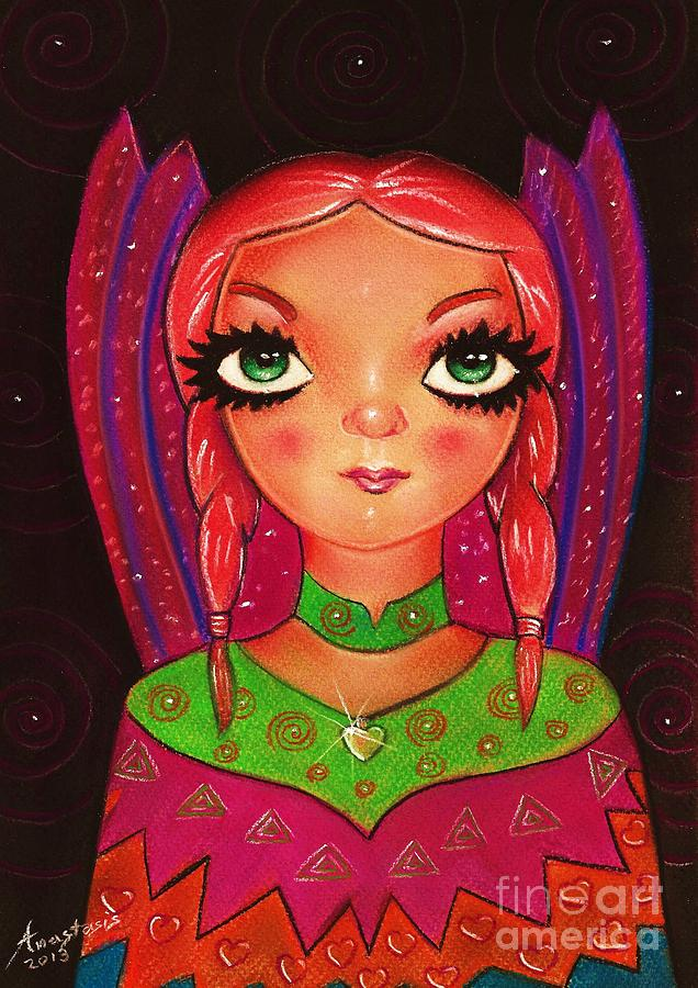 Indian Fairy Drawing