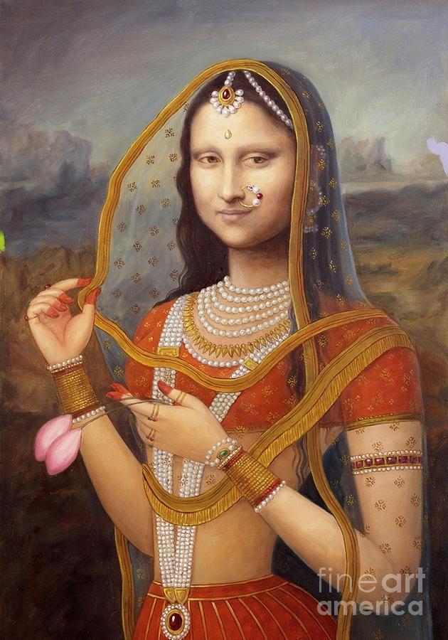 Indian Monalisa Painting