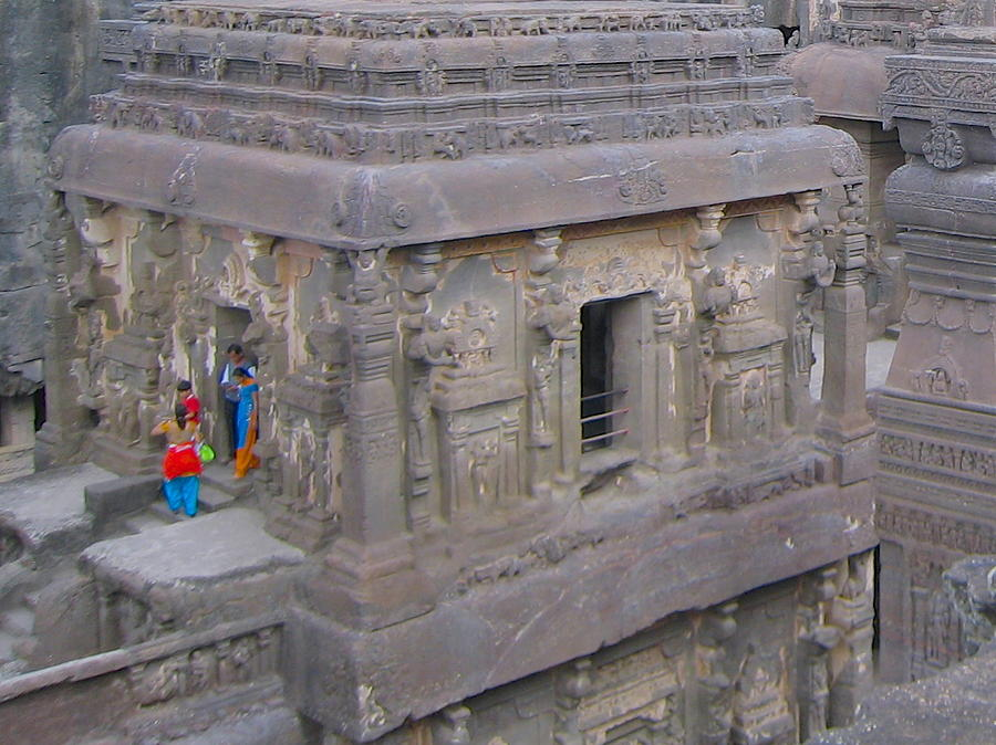 India Photograph - Indian Ruin by Russell Smidt