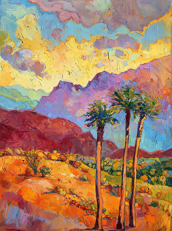 Indian Wells Painting - Indian Wells by Erin Hanson