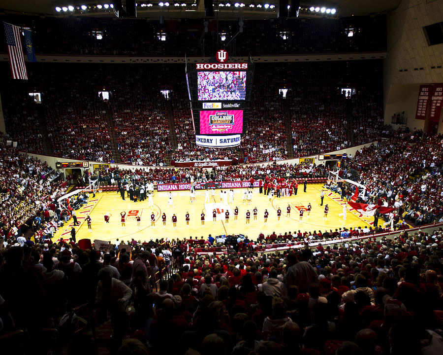 Indiana Hoosiers Assembly Hall Photograph