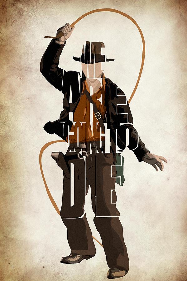 Indiana Jones Vol 2 - Harrison Ford Drawing