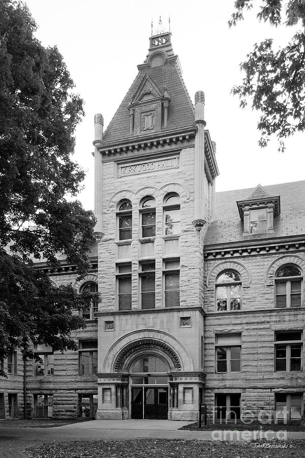 Indiana University Kirkwood Hall Photograph  - Indiana University Kirkwood Hall Fine Art Print