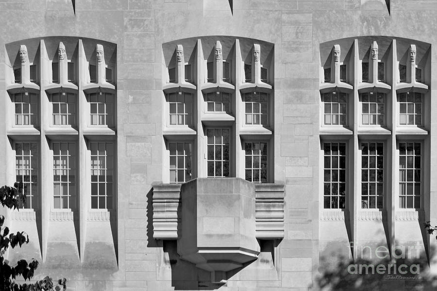 Indiana University Myers Hall Photograph