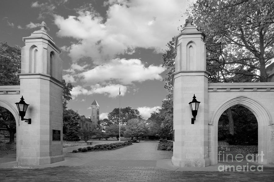 Indiana University Sample Gates Photograph  - Indiana University Sample Gates Fine Art Print