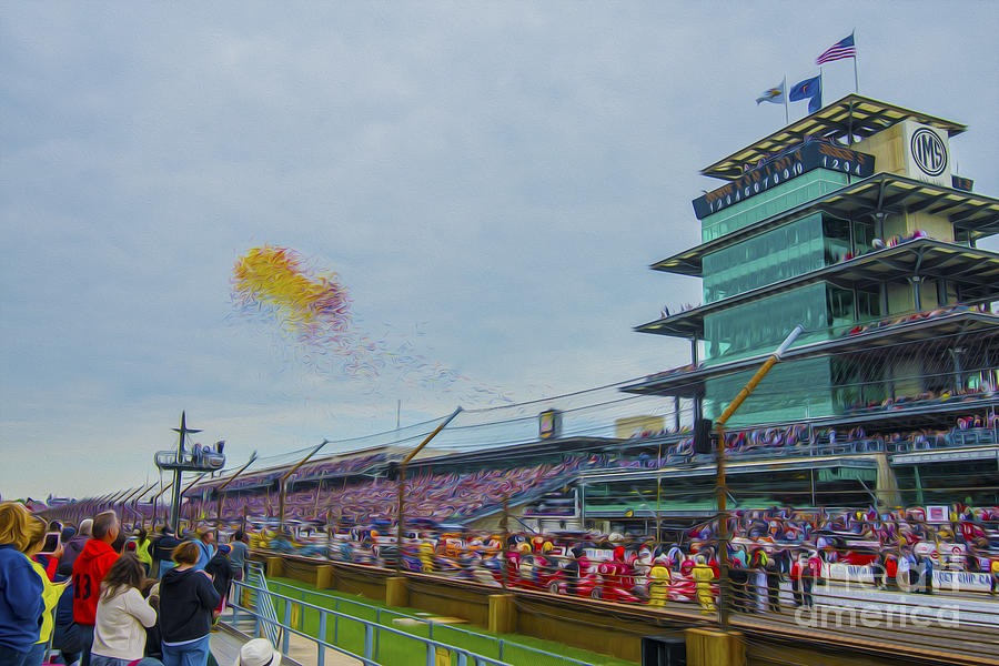 Indianapolis 500 May 2013 Balloons Race Start Photograph