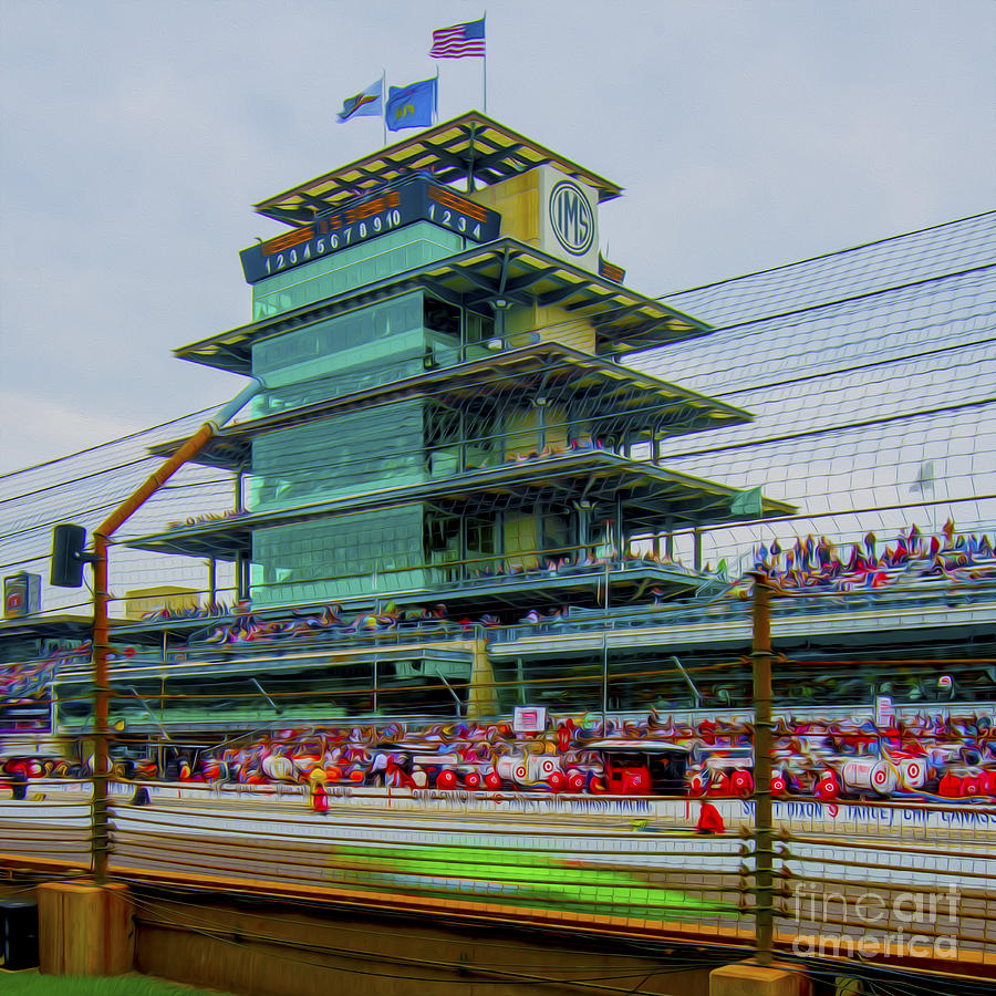 Indianapolis 500 May 2013 Square Photograph