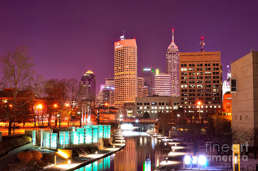 Indianapolis Skyline 200 Photograph