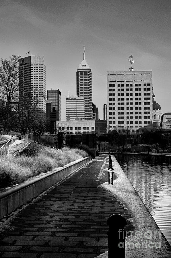 Indianapolis Skyline 21 Photograph