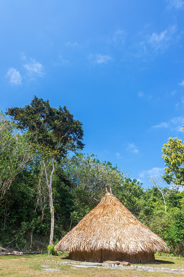 Indigenous Hut Photograph