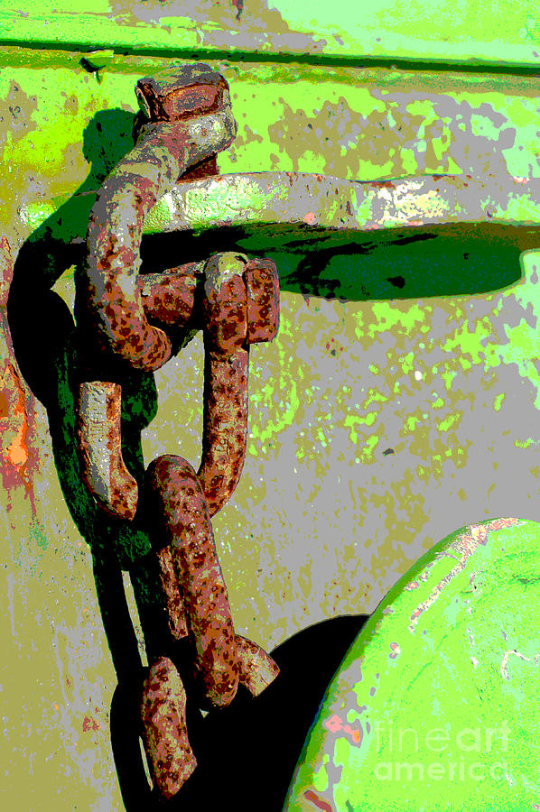 Industrial Chain Pop Art Mixed Media