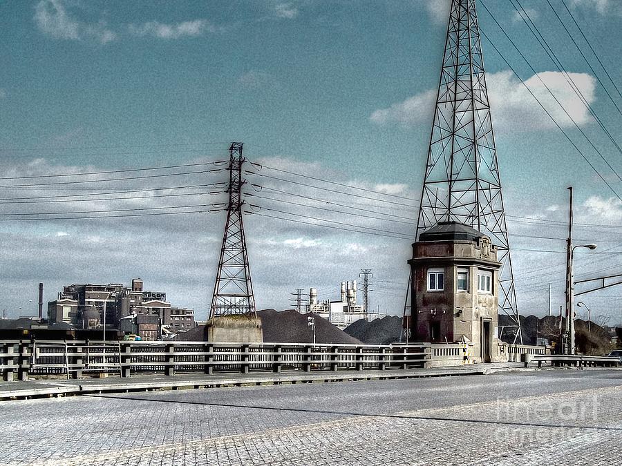 Industrial Detroit Photograph
