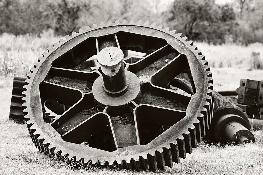Industrial Gear Photograph