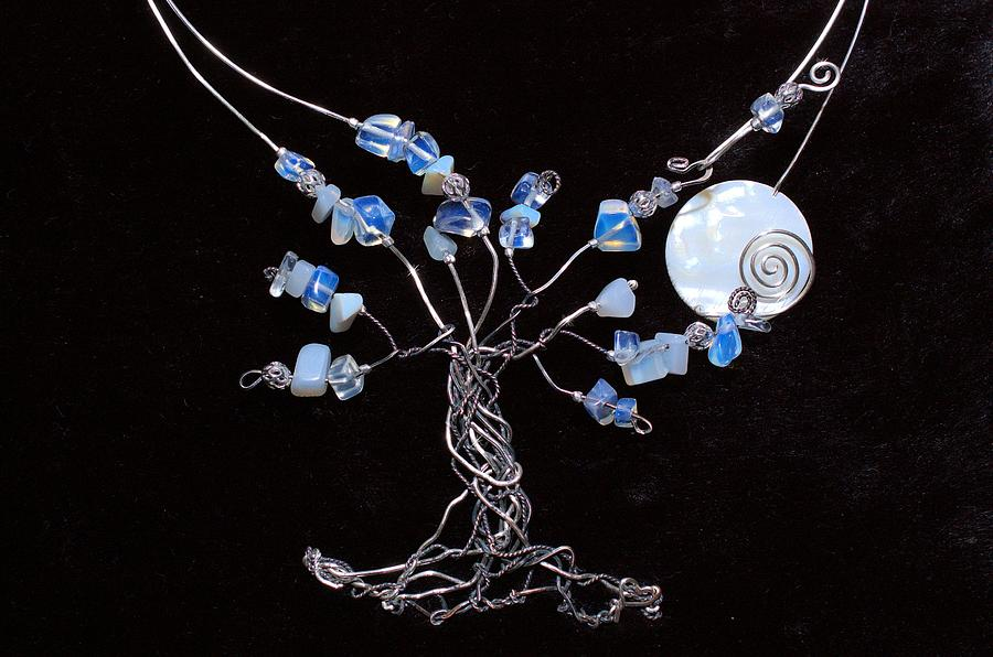 Infini-tree Opalite Neck Wear Jewelry