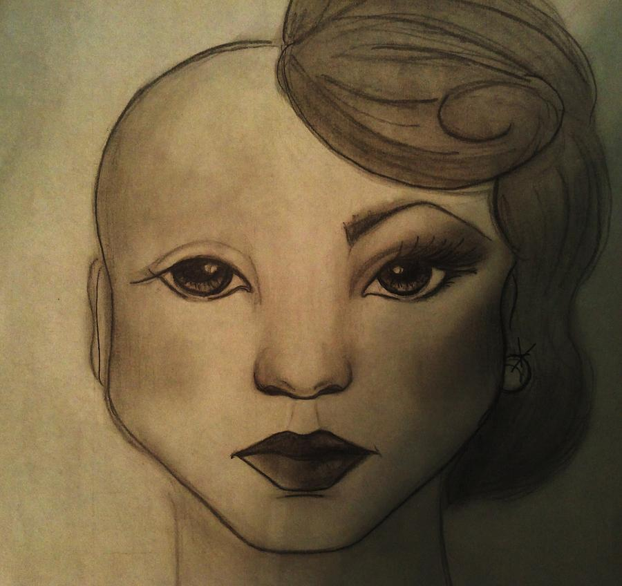 Cancer Drawing - Infinite Beauty by Megan Jenkins