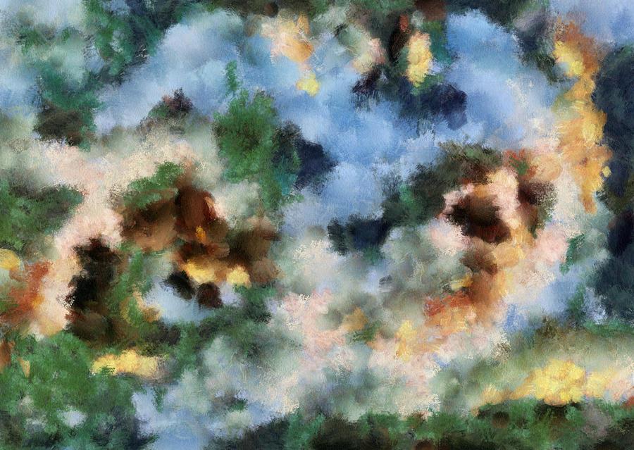Cosmos Painting - Infinite Space by Georgi Dimitrov