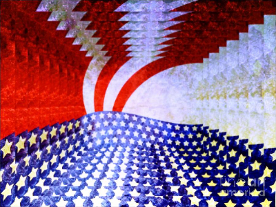 Infinity Flag Digital Art