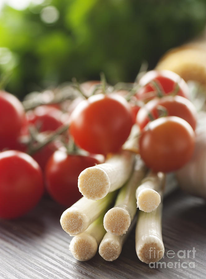 Ingredients For Tomato Sauce Photograph