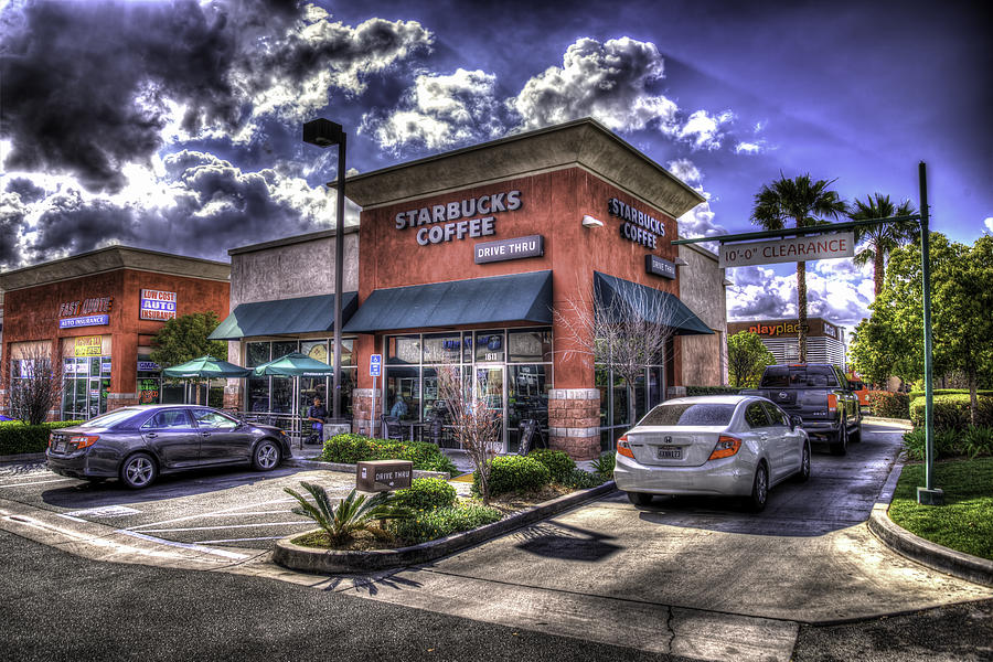 Inland Empire Starbucks Photograph