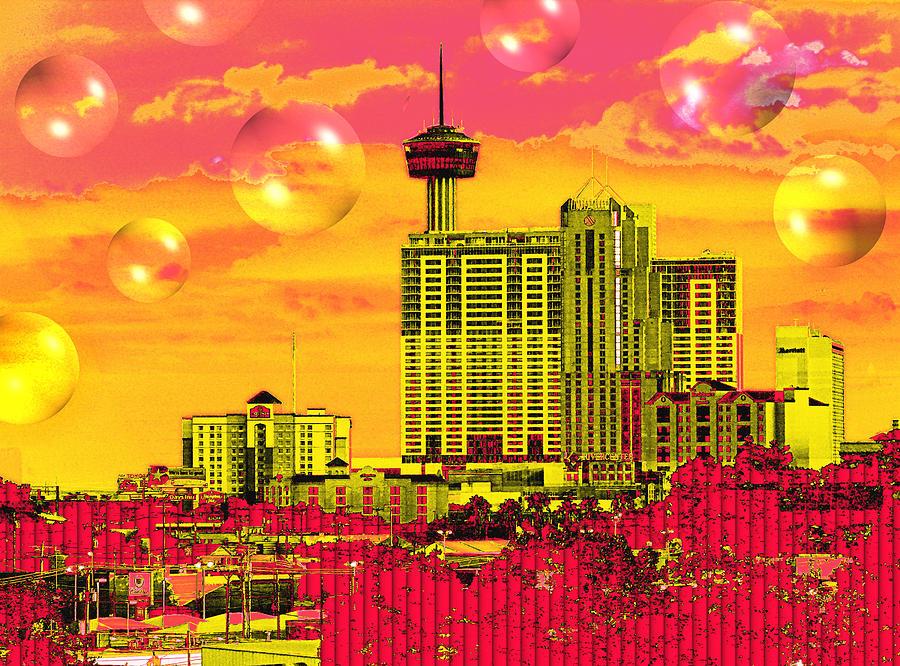 Inner City - Day Dreams Digital Art