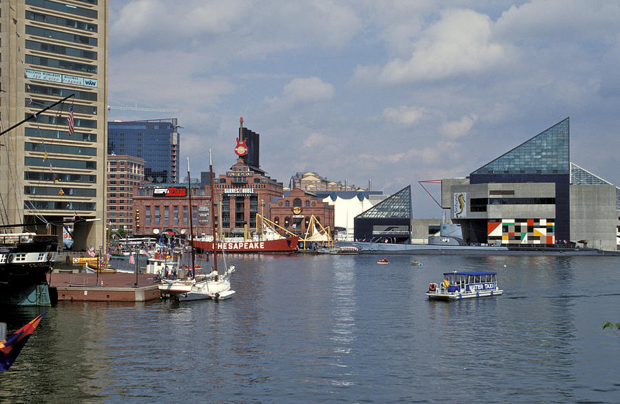Inner Harbor Baltimore Md Photograph  - Inner Harbor Baltimore Md Fine Art Print