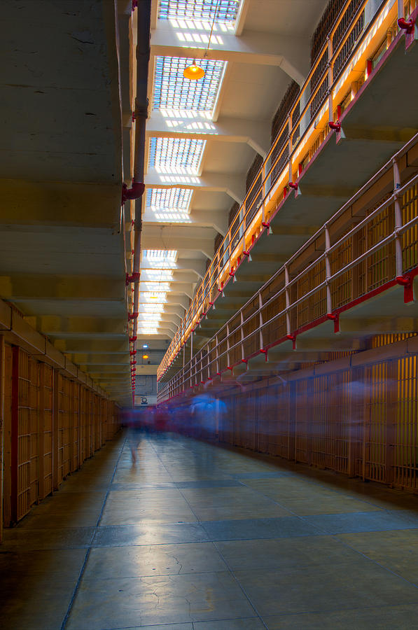 Inside Alcatraz Photograph