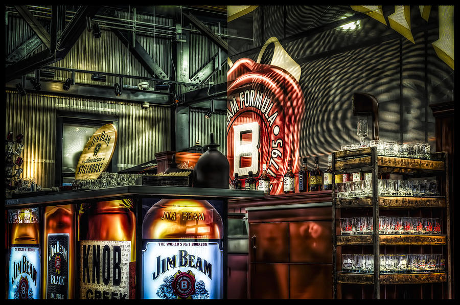 Inside Jim Beam America Stillhouse Photograph