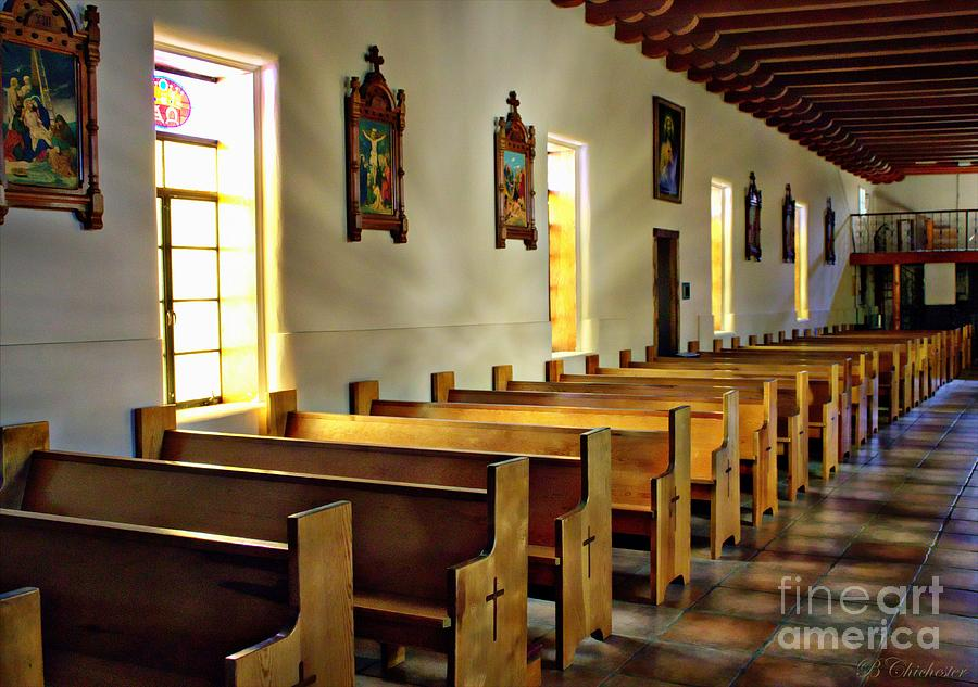 Inside  St Francis De Paul Photograph  - Inside  St Francis De Paul Fine Art Print