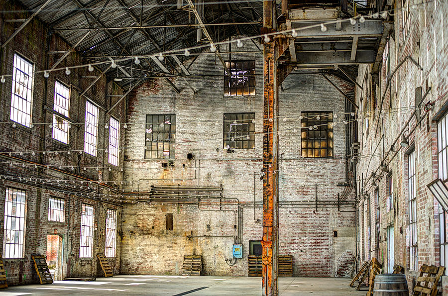 Inside The Old Sugar Mill Photograph