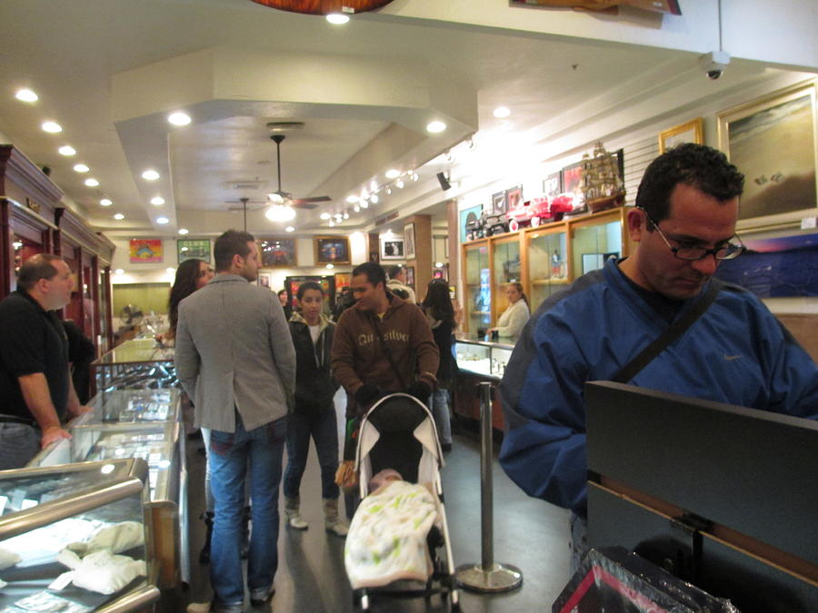 Gold & Silver Pawn Shop Photograph - Inside World Famous Pawn Shop by Kay Novy
