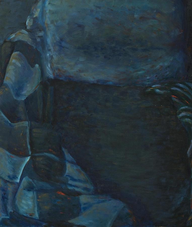 Bed Painting - Insomnia - Nightmare by Oni Kerrtu