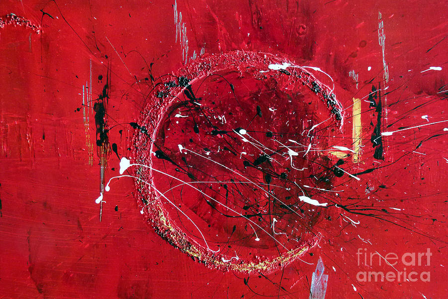 Inspiration abstract painting painting by ismeta gruenwald for Inspirational paintings abstract