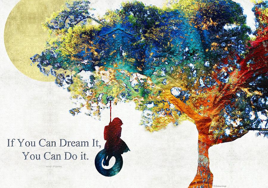 Inspirational Art You Can Do It Sharon Cummings