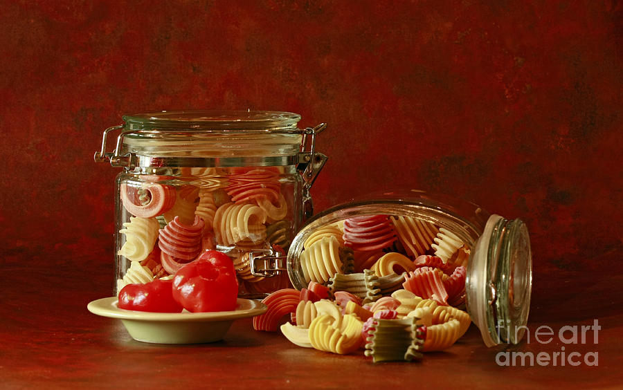Inspired By Pasta Photograph  - Inspired By Pasta Fine Art Print