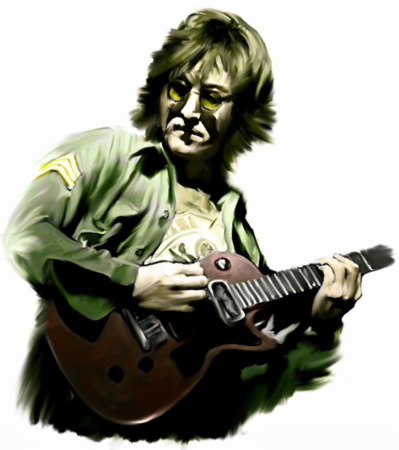 Instant Karma  John Lennon Painting